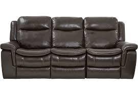 Sofa Vs Loveseat Milano Brown Leather Reclining Sofa Reclining Sofas Brown