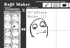 create troll face online comic rage creator make meme comic