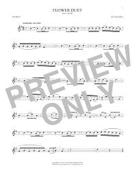 Flower Duet - flower duet sheet music at stanton u0027s sheet music