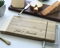 personalized cheese tray cheese cutter etsy