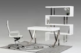 modern white office desk modern white lacquer office desk