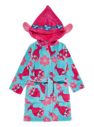dressing gown all girl s clothing multicoloured trolls dressing gown 3 10 years