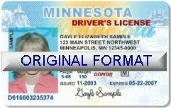 fake id novelty id fake driver license minnesota novelty id