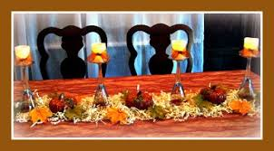 thanksgiving centerpieces and the feast