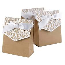 wedding favor bags 25ct white lace silver wedding favor bags spritz target
