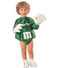 m m costume infant green m m costume clothing