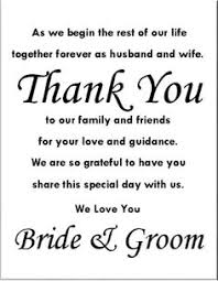 thank yous on wedding programs thank you in wedding program search wedding inspiration