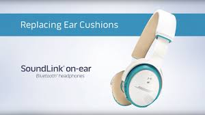 Bose Ae2 Replacement Ear Cushions How To Replace The Ear Cushions On Your Soundlink On Ear