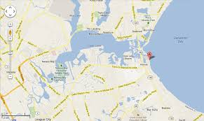 Lighthouse Buffet Kemah Menu by Aerial View And Maps Of Our Vacation Rental Home In Kemah Texas
