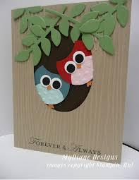 mydiane designs stin up punch owls handmade cards