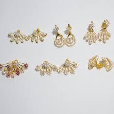 gold ear ring images women s gold earring sone ki baliyan arts n jewels mumbai id