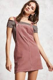 corduroy overall dress forever 21 2000133823