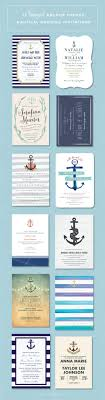 nautical wedding invitations nautical wedding invitations 12 beautiful anchor themed designs