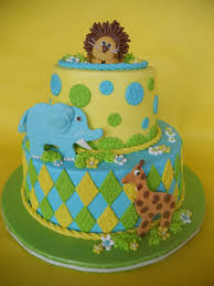 jungle safari baby shower cakes gallery picture cake design and