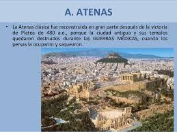 imagenes de antigua atenas espacios y monumentos de la atenas clásica