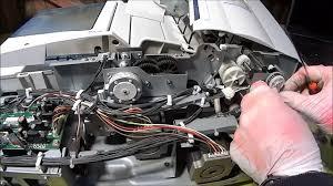 wymiana silnika adf pick up roller motor ricoh aficio mp6001