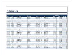 mileage report template ms excel vehicle mileage log template word excel templates