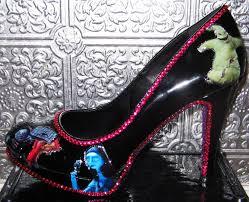 tim burton nightmare before heels