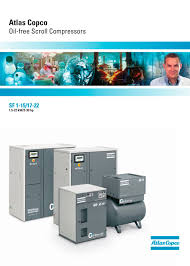 oil free scroll compressors atlas copco compressors usa pdf