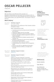resume for it support best ideas of desktop support sample resume for your example