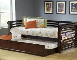 Daybed With Pull Out Bed Daybed High Trundle Twi Along With Storage Beds In Daybed