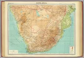 africa map high resolution south africa david rumsey historical map collection