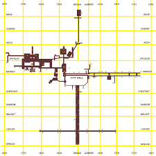 map of philly philadelphia subway concourse map