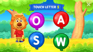 learn letter abcd with words very easy kids video dev in game