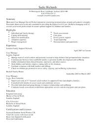 sample resume for case manager case manager resume template