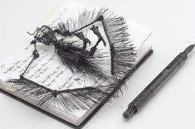 3d raven sketched with lix pen u2014 riikc mexican artist u0026 entrepreneur
