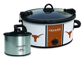 Texas Longhorns Home Decor Amazon Com Crock Pot Texas Longhorns Collegiate Cook U0026 Carry Slow