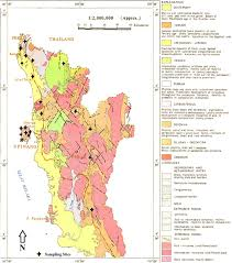 Radon Map Usa by A Geological Map Of Nmp Director General Of Geological Survey