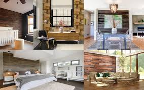 rustic wood walls brewster home feature wall with wood