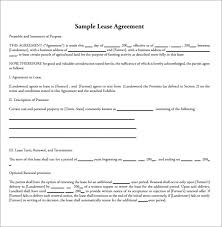sle land lease agreement 11 free documents in pdf word