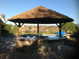 Mexican Thatch Roofing by African Thatch Reed Panels 31