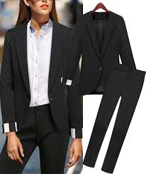 2015 spring fashion women business suits formal office suits work