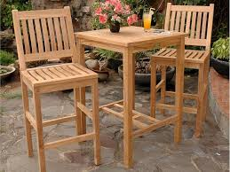 bar height patio table plans bar height table outdoor teak furniture good maintenance throughout