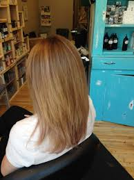 sandy blonde hair color with painted on highlights by kellyn at