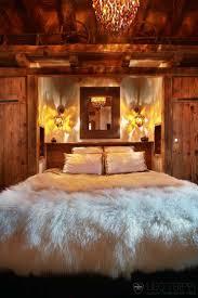 Rustic Bedroom Lighting Warm And Cozy Cabin Bedroom Make Mine Rustic Pinterest Cabin