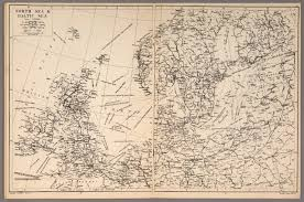 Baltic Sea Map North Sea And Baltic Sea David Rumsey Historical Map Collection