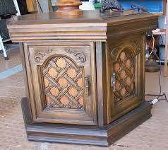 Repurpose Cabinet Doors by Excellent Small Wooden Cabinet With Doors Storage And Carving