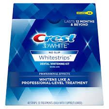 crest 3d white whitestrips luxe dental whitening kit 14 ct
