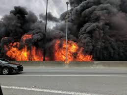 section of i 85 collapses in atlanta after massive fire fox13now com