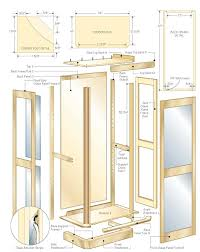 curio cabinet unique curio cabinet woodworking plans photos