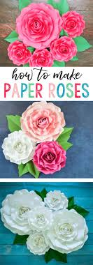 paper flowers paper flowers how to make paper garden roses with step by
