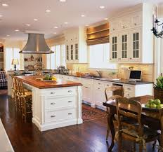 antique kitchen decorating ideas traditional kitchen decorating wooden varnish islands antique