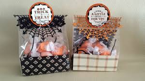 a little something treat bag
