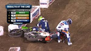 2014 ama motocross results ryan villopoto crashes twice at anaheim ii 2014 supercross youtube