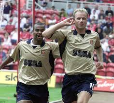 dennis bergkamp was signed for arsenal 20 years ago by bruce rioch