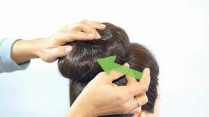 sock bun hair how to do a sock bun 7 steps with pictures wikihow